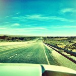Empty Highway 285 New Mexico
