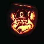 Chuck E. Cheese Pumpkin