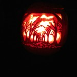 Scary Trees Pumpkin