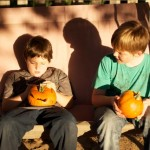 Cousins and Pumpkins