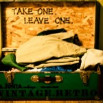 Give One Take One Trunk at Frama, Marfa TX