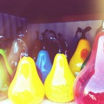 Handblown Glass Pears