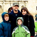 Nims Family at Alamo
