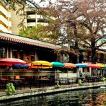 San Antonio River Walk Umbrella