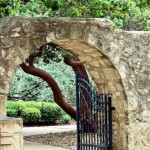 The Alamo Archway
