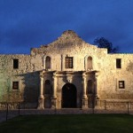The Alamo Night Time