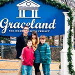 Graceland Memphis Entrace Family