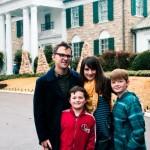 Graceland Memphis Family Picture