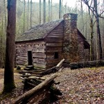 Cabin Smokey Mountain NP