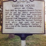 Carter House Sign
