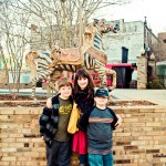 Jenn and Boys Carousel Hourse Meridian Mississippi