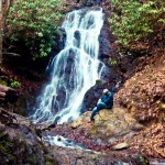 Waterfall Smokey Mountain NP