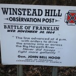 Winstead Hill Sign Franklin