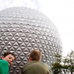 Brothers at Epcot
