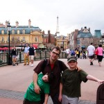 Daddy and Boys Epcot