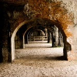 Inside Fort Pickens