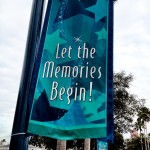 Let the Memories Begin Sign Disney