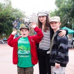 Mama and the boys Disney Hollywood Studio