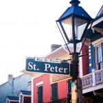 St. Peter Street New Orleans