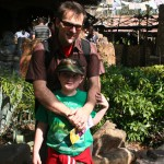 With Daddy Disney World