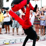 Acrobats Red Trouser Show Key West