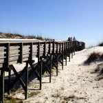 Boardwalk Anastasia State Park Florida