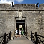 Entrance into Castillo De San Marcos
