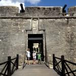 Entrance into Castillo De San Marcos