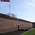 Flag Fort Pulaski GA
