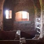 Inside Fort Pulaski GA