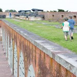 On top of Fort Pulaski GA