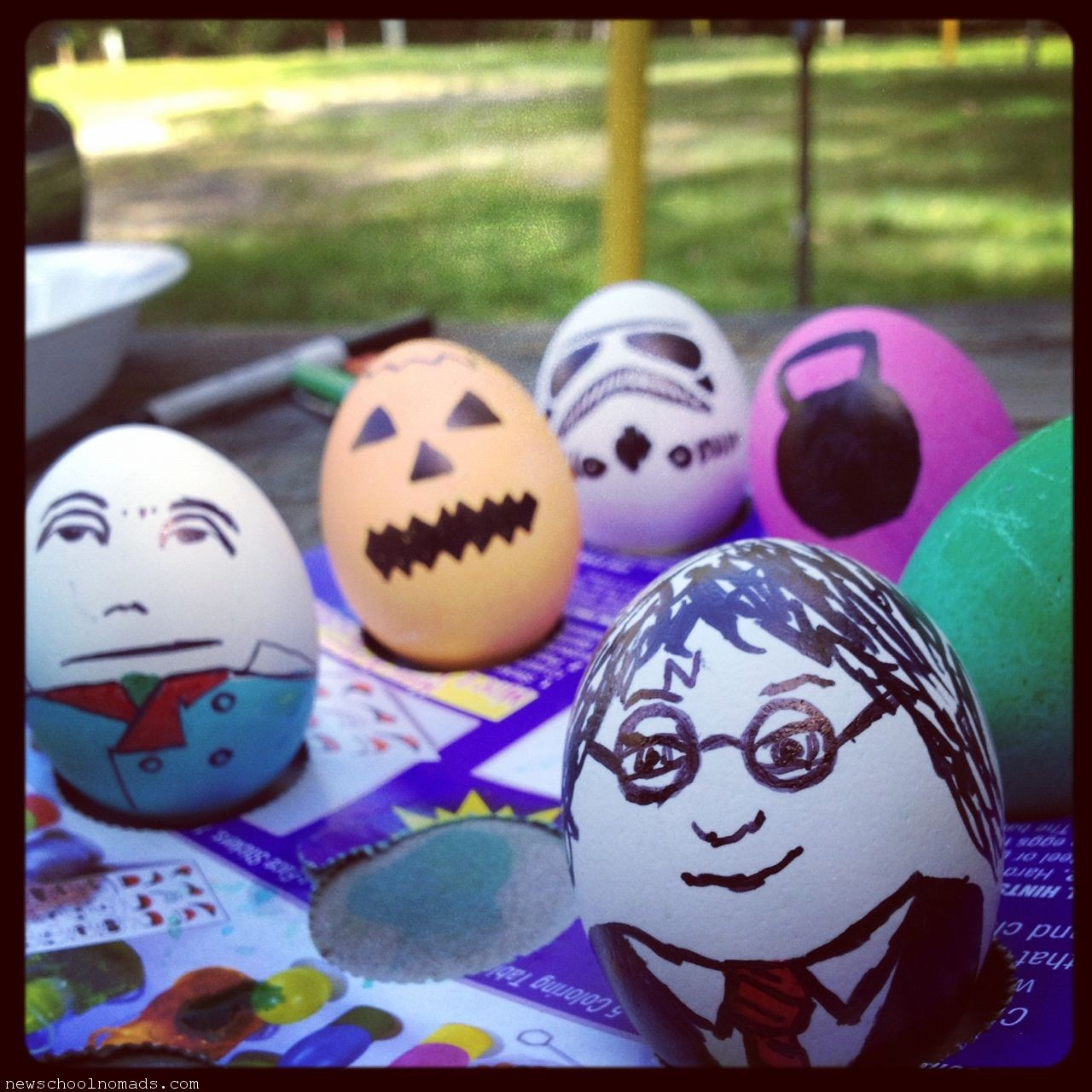 Harry Potter Book Easter Eggs : Harry potter easter egg and humpty dumpty newschool nomads