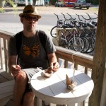 Icecream at Ocracoke Island in the Outer Banks