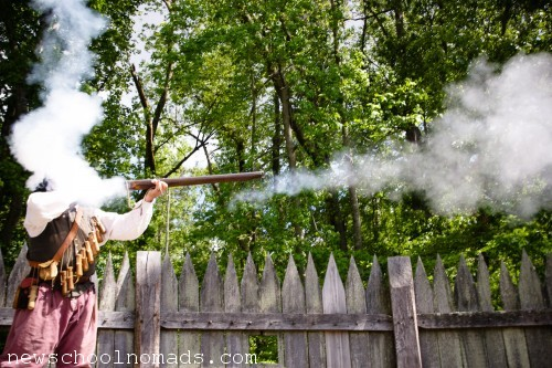 Musket Fire Jamestown Settlement