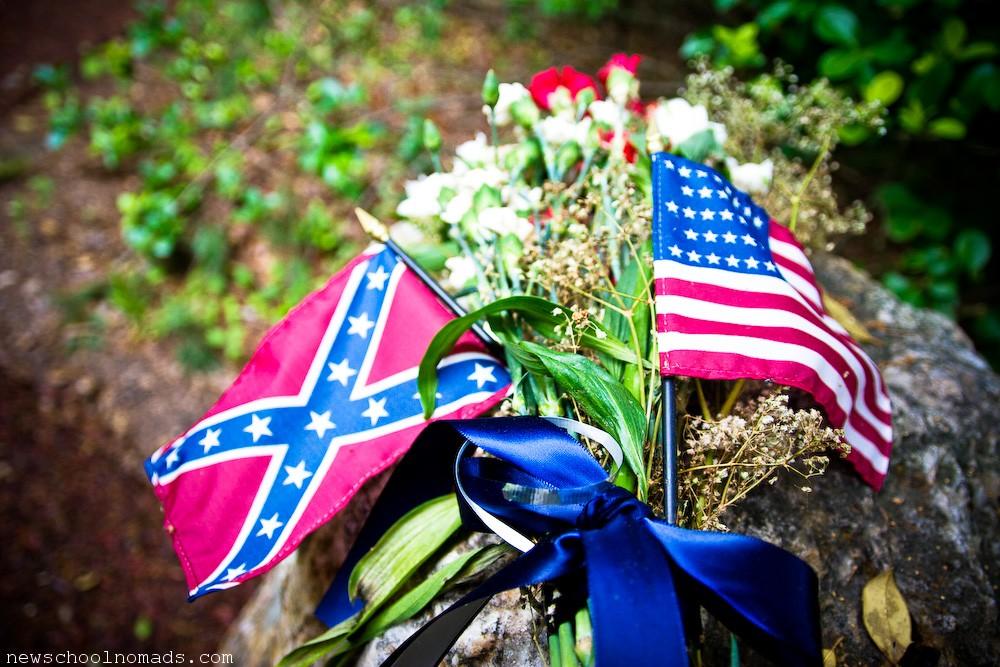 American Confederate Flag