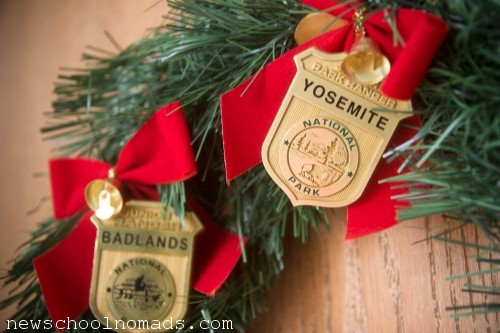 Jr Ranger Christmas Wreath Yosemite