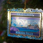 Niagra Falls Christmas Ornament