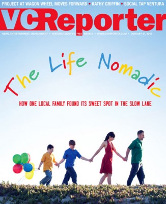 VC Reporter Cover Nomads Family on the Road