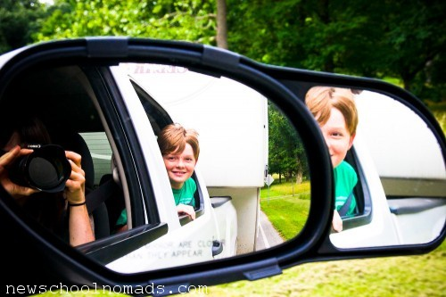 In the Mirror Valley Forge