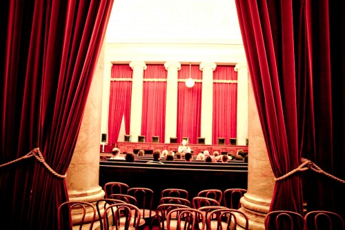 Inside Supreme Court DC