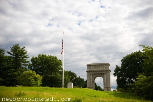 National Memorial Arch Valley Forge PA