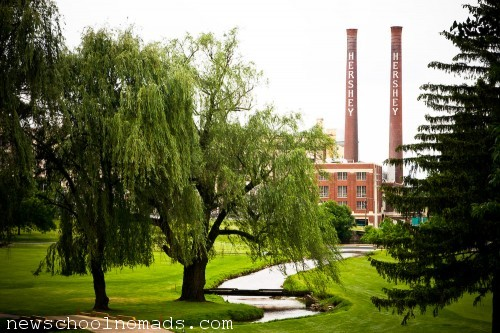 Old Hershey Chocolate Factory PA
