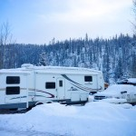 RV Winter Snow
