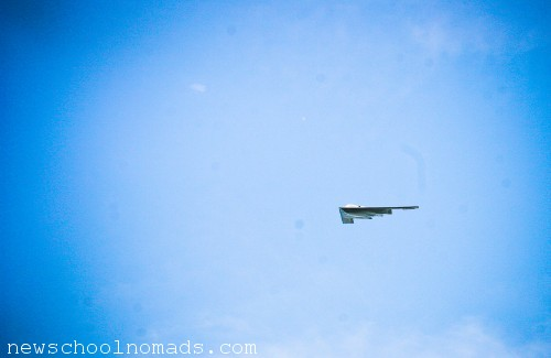 Stealth Bomber Airshow