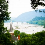 View From Jerfferson Rock Harpers Ferry