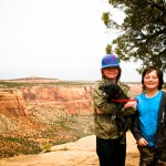 Brothers at Colorado National Monument CO