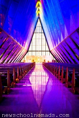 Colorado Springs Airforce Academy Chapel