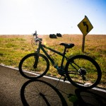 Biking Antelope Island UT