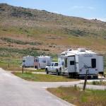 Camping Antelope Island State Park UT