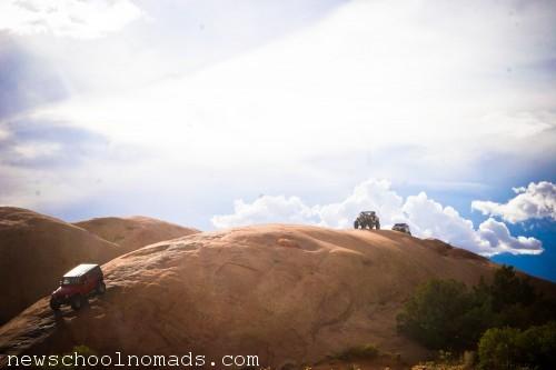 Jeeps Slick Rock Moab